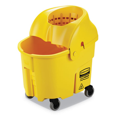 RCPFG759088YEL - Rubbermaid® Commercial WaveBrake® 2.0 Bucket/Wringer Combos