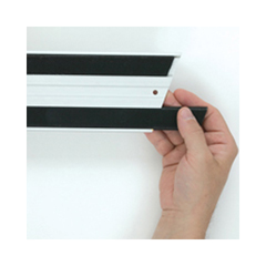 RCPQ180BLA - Hook & Loop Replacement Strips