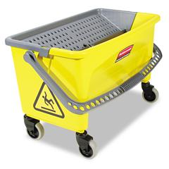 RCPQ90088YW - Rubbermaid® Commercial HYGEN™ HYGEN™ Press Wring Bucket