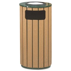RCPR23SU50PL - Rubbermaid® Commercial Regent 50 Series Ash/Trash Waste Receptacle