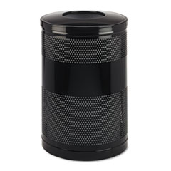 RCPS55ETBK - Classics Perforated Open Top Receptacle