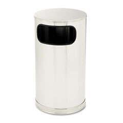 RCPSO16SSSGL - Rubbermaid® Commercial European & Metallic Series Waste Receptacle with Large Side Opening