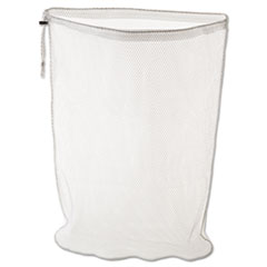 RCPU210 - Laundry Net, 24w x 24d x 36h, Synthetic Fabric, White