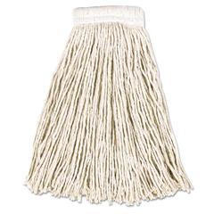RCPV156 - Non-Launderable Economy Cut-End Cotton Wet Mop Heads