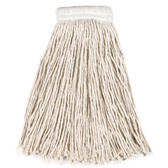 RCPV158 - Non-Launderable Economy Cut-End Cotton Wet Mop Heads