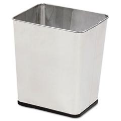 RCPWB29RSS - Rectangular Stainless Steel Wastebasket