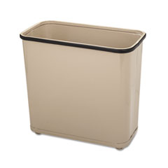 RCPWB30RAL - Rubbermaid® Commercial Fire-Safe Steel Rectangular Wastebaskets