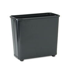 RCPWB30RBK - Rubbermaid® Commercial Fire-Safe Steel Rectangular Wastebaskets