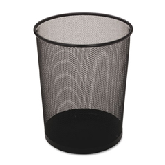 RCPWMB20BKCT - Rubbermaid® Commercial Steel Mesh Wastebasket
