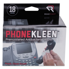 REARR1203 - Read Right® PhoneKleen™ Wipes