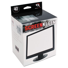 REARR1305 - Read Right® Kleen & Dry™ Wet/Dry Wipes