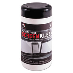 REARR1491 - Read Right® Alcohol-Free ScreenKleen™ Wipes