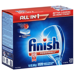 REC77050 - FINISH® All in 1 POWERBALL® Tabs