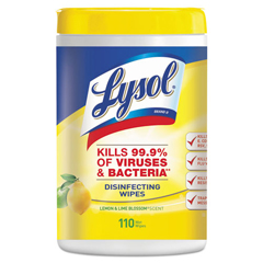 REC78849 - LYSOL® Brand II Disinfecting Wipes - Lemon & Lime Blossom