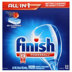 REC81049 - FINISH® Powerball Dishwasher Tabs