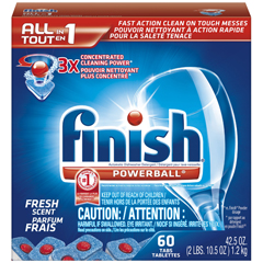 REC81158 - FINISH® All-in-1 Powerball® Tabs- Fresh Scent