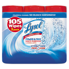 REC88822 - LYSOL® Brand Power & Free™ Multi-Purpose Cleaning Wipes
