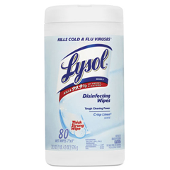 REC89346 - Lysol® Disinfecting Wipes- Crisp Linen®