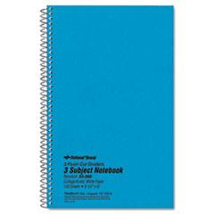 RED33360 - National® Brand Three-Subject Wirebound Notebooks