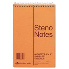 RED36646 - National® Brand Standard Spiral Steno Book