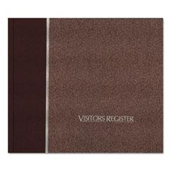 RED57803 - National® Brand Hardcover Visitor Register Book