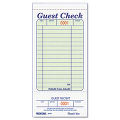 RED5F740 - Rediform® Guest Check Book