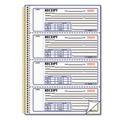 RED8L810 - Rediform® Gold Standard™ Money Receipt Book