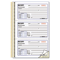 RED8L829 - Rediform® Gold Standard™ Money Receipt Book