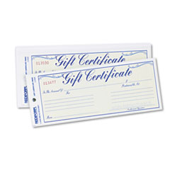 RED98002 - Rediform® Gift Certificates with Envelopes