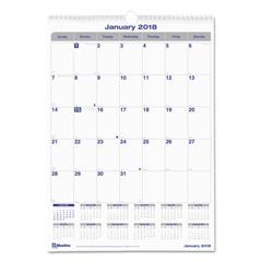 REDC171303 - Blueline® Net Zero Carbon™ Monthly Wall Calendar