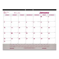 REDC1731V - Brownline® Monthly Desk Pad Calendar