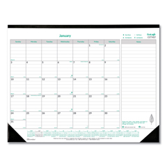 REDC177437 - Brownline® EcoLogix® Monthly Desk Pad Calendar