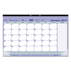REDC181700 - Brownline® Monthly Desk Pad Calendar