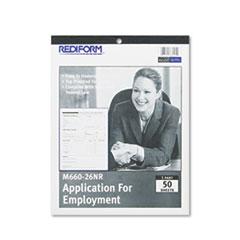 REDM66026NR - Rediform® Employee Application