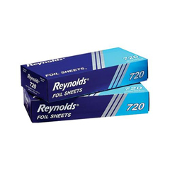 REY720 - Interfolded Aluminum Foil Sheets