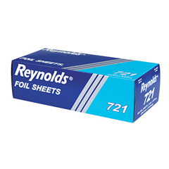 REY721 - Interfolded Aluminum Foil Sheets