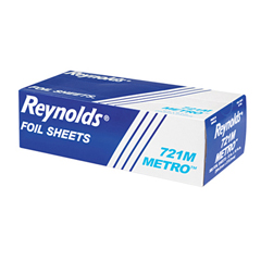 REY721M - Metro Pop-Up Aluminum Foil Sheets