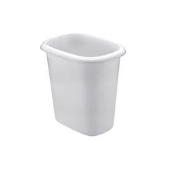 RHP2953WHI - Oval Vanity Wastebasket