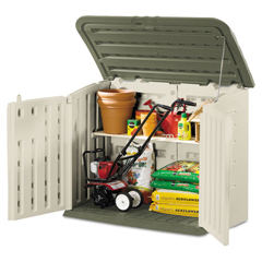 RHP3747 - Rubbermaid Large Horizontal Outdoor Storage Shed