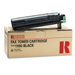 RIC430347 - Ricoh 430347 Toner, 6000 Page-Yield, Black