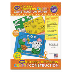 RLP02803 - Roselle Vibrant Art Crafty Printed Construction Paper