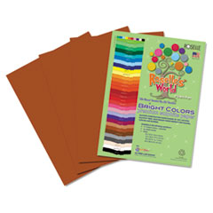 RLP71301 - Roselle Bright Colors Premium Sulphite Construction Paper