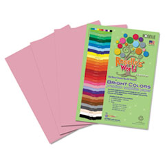 RLP71601 - Roselle Bright Colors Premium Sulphite Construction Paper