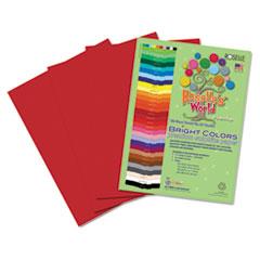 RLP73801 - Roselle Bright Colors Premium Sulphite Construction Paper