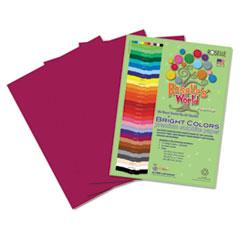 RLP74502 - Roselle Bright Colors Premium Sulphite Construction Paper