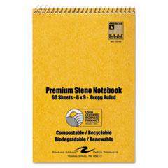 ROA12130 - Roaring Spring USDA Certified Bio-Preferred Steno Book