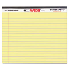 ROA74501 - Roaring Spring® Landscape Format Writing Pad