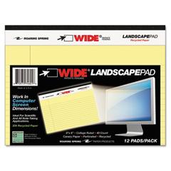 ROA74601 - Roaring Spring® WIDE® Landscape Format Writing Pad