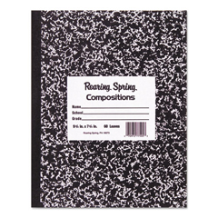 ROA77505 - Roaring Spring® Marble Cover Composition Book