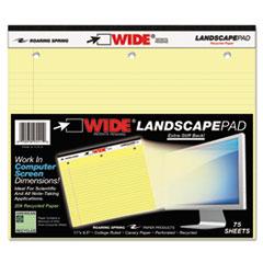 ROA95511 - Roaring Spring® Landscape Format Writing Pad